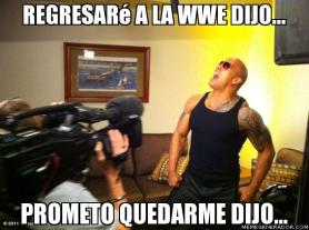 Viñeta de The Rock / By: Luiiz Leiiton - MemeGenerador.com