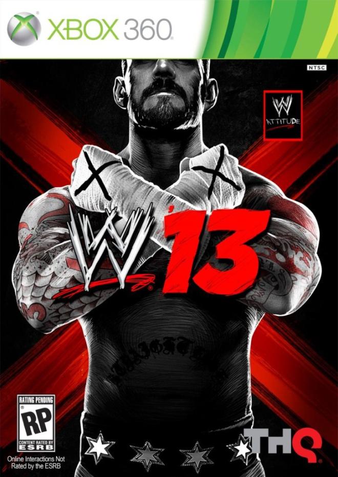 """Portada del videjouego """"WWE'13″"""