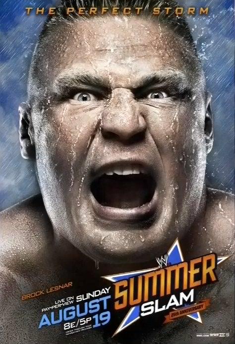 WWE Summerslam con Brock Lesnar