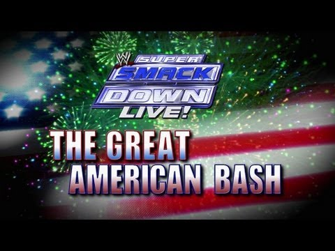 WWE SuperSmackDown Live! - The Great American Bash (3/7/12)