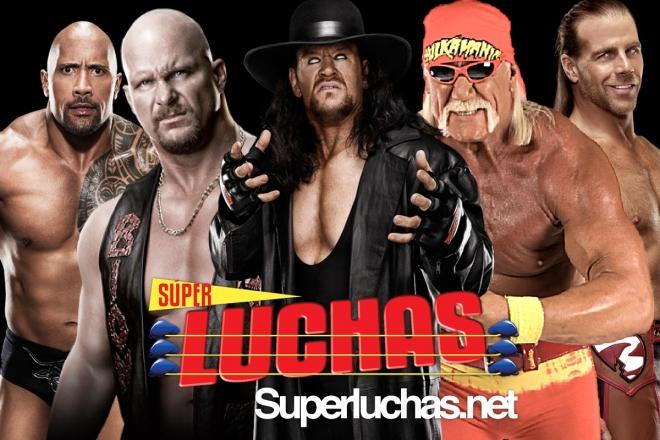 Estrellas historicas de WWE