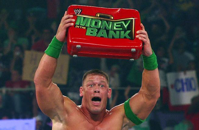 John Cena gana el Maletín WWE Championship Money in the Bank 2012 (15/7/12) / Facebook.com/WWE