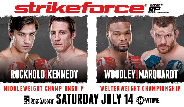 Rockhold vs Kennedy / Strikeforce.com