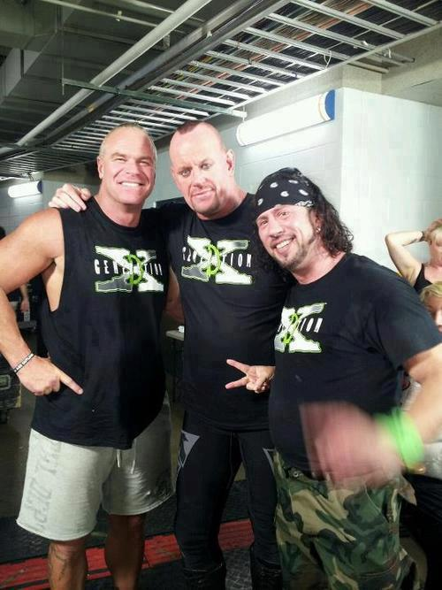 The Undertaker, X-Pack y Billy Gunn - WWE RAW 1000