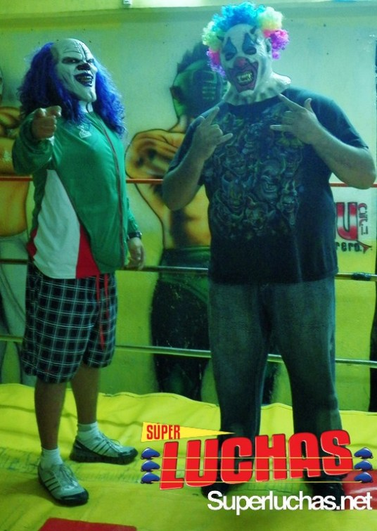 Dave the Clown y Murder Clown / Foto de Carlos Acosta
