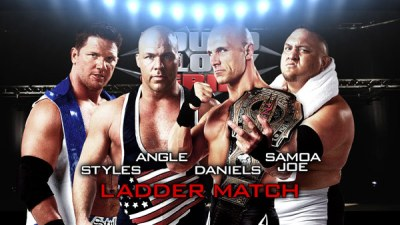 AJ Styles vs Kurt Angle vs Christopher Daniels vs Samoa Joe