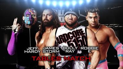 Jeff Hardy vs James Storm vs Bully Ray vs Robbie E