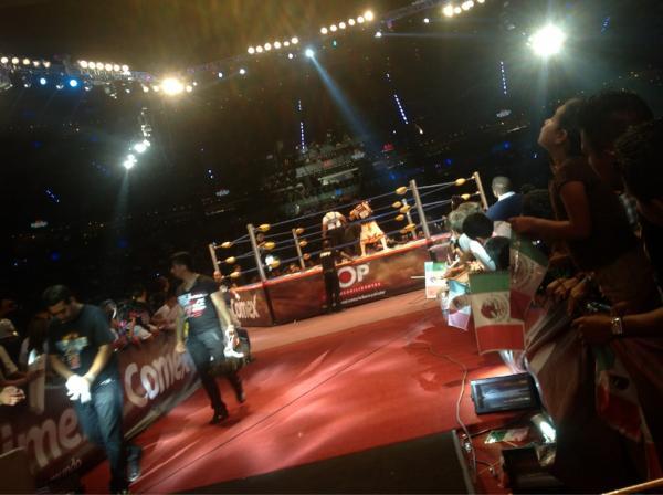 Psicosis vs Joe Lider - Image by Lucha Libre Triple A