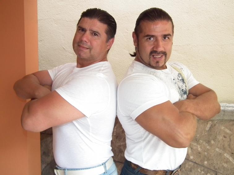 Los Hermanos Garza, se vuelven a encontrar en la misma función