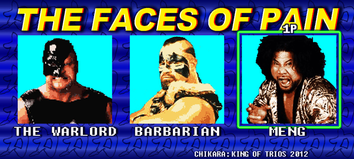 The Faces of Pain / kingoftrios.com
