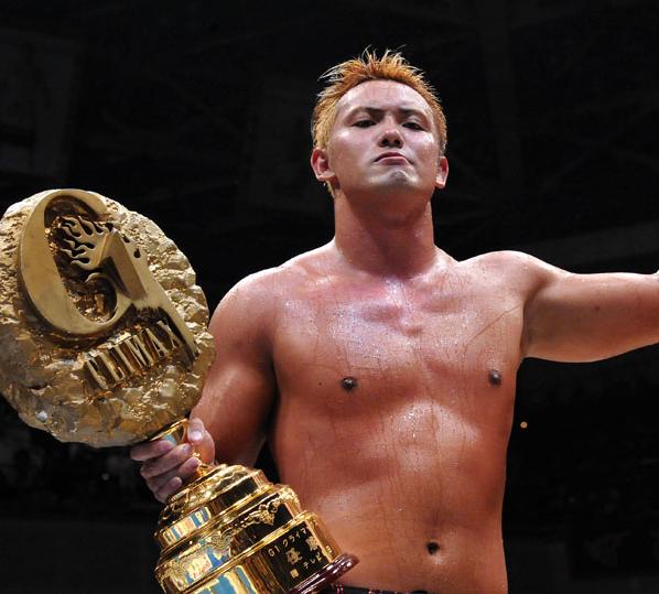 Okada es el ganador más joven del G1 Climax