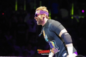 Zack Ryder en Shanghai, China / Photo by @CruzPan – Authorized to Superluchas.net
