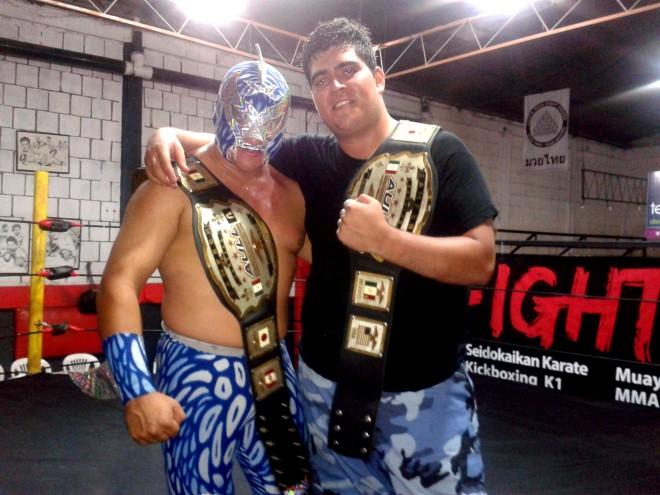 Escualo y Ares nuevos campeones en pareja de AULL