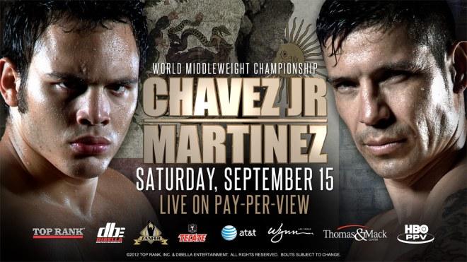 'Maravilla'  es el nuevo campeón mundial del peso mediano Chavez-vs-martinez-poster