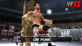 "CM Punk, King of the Ring en ""WWE'13"""
