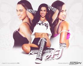 AJ Lee / Kupy Wrestling Wallpapers