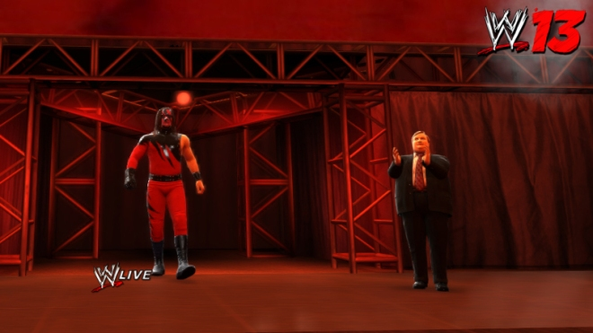 "Paul Bearer, Manager de KANE en ""WWE'13"" / WWE.THQ.com"