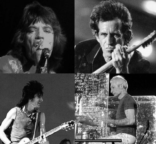 The Rolling Stones / By: Larry Rogers - Wikipedia.org