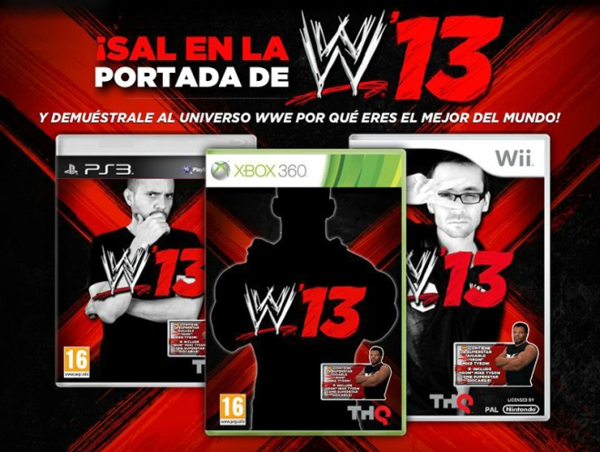 Sal en Portada / Be On A WWE'13 Cover