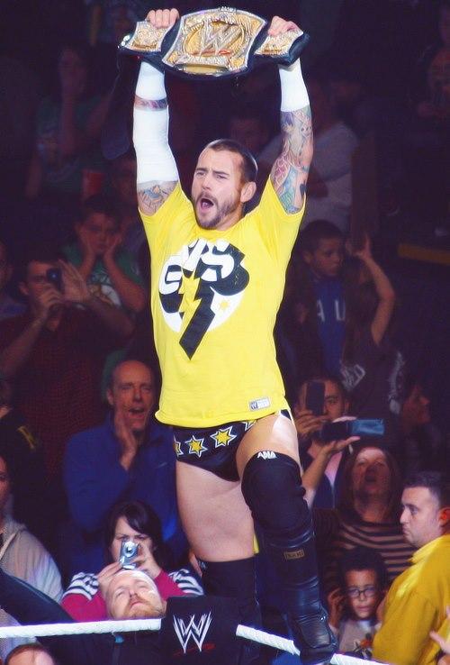 CM Punk como WWE Champion (2012)