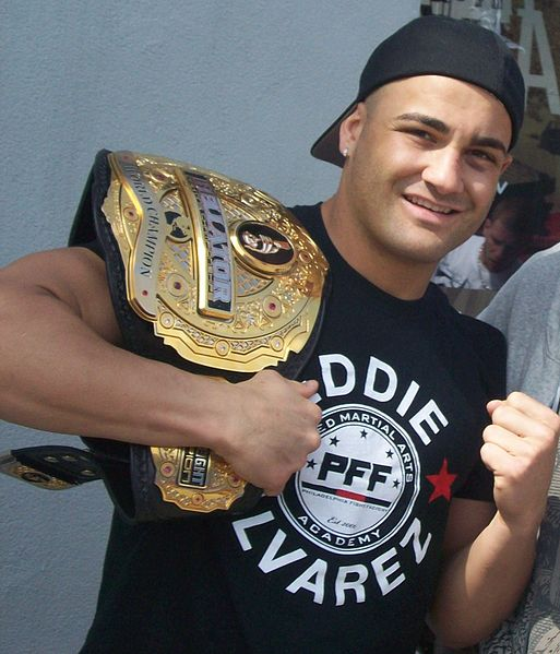 Eddie Alvarez / Photo by Kyle Holdsworth - Creative Commons License