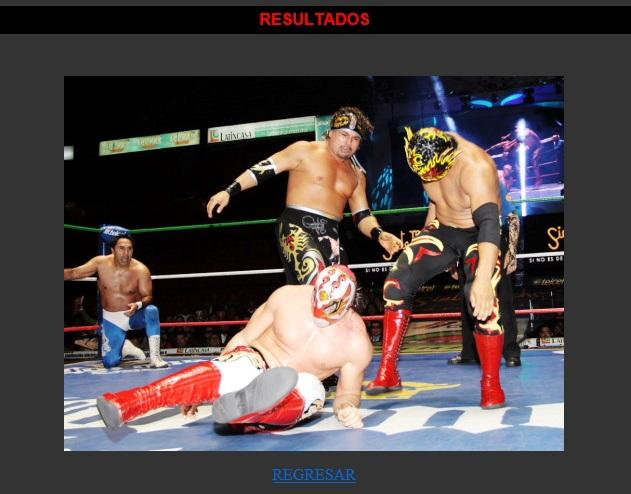 Rey Escorpión y Pólvora vs. Niebla Roja, ante la mirada de Blue Panther / Arena México - 13 de nov. de 2012 / www.cmll.com