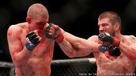Jim Miller vs. Joe Lauzon - UFC155 / Photo by Tracy Lee - Yahoo Sports