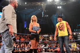 Bully Ray confronta a Hulk Hogan, Brooke los observa