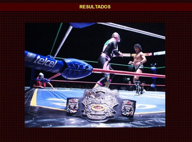 Negro Casas (c) vs. Guerrero Maya Jr. por el Campeonato Mundial Histórico NWA de Peso Welter / Función de Navidad - Arena México - 25 de diciembre de 2012 / www.cmll.com