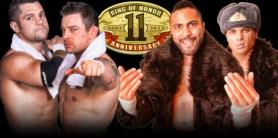 Wolves vs Hooligans / rohwrestling.com