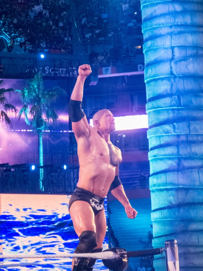 The Rock en WWE WrestleMania 28 (1/4/12) / Photo by: simononly - Flickr.com