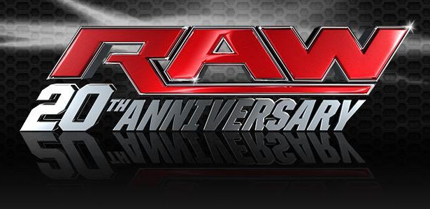 WWE RAW 20th Anniversary (14/1/13)
