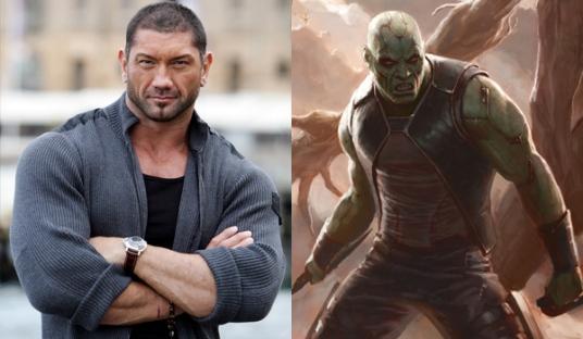 """Dave Bautista (Batista) será Drax The Destroyer en """"Guardians Of The Galaxy"""""""