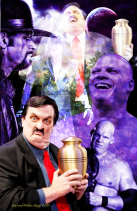 "Paul Bearer, ""El Padre de la Destrucción"" (1954 - 2013) / PercyPringle.com"