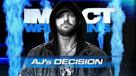 ¿Que decisión tomara AJ Stykes? | impactwrestling.com