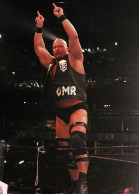 Stone Cold Steve Austin en Wrestlemania XIX / Photo by  Mshake3 - Creative Commons License