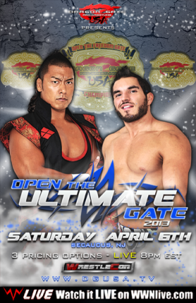 DGUSA Open the Ultimate Gate / wwnlive.com