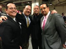 Joey Styles, Paul Heyman, RVD y Tommy Dreamer en el WWE Hall of Fame 2013 / Facebook.com/WWEHOF