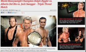 Triple Amenaza por el World Heavyweight Championship en el PPV WWE Extreme Rules 2013 / wwe.com