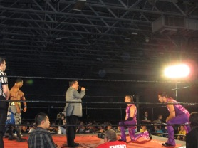 The Young Bucks en NJ/ imagen by Alex Ruiz