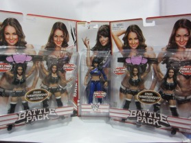 WWE Mattel Battle Pack Series Diva 2012 // imagen por @Ratedwwe