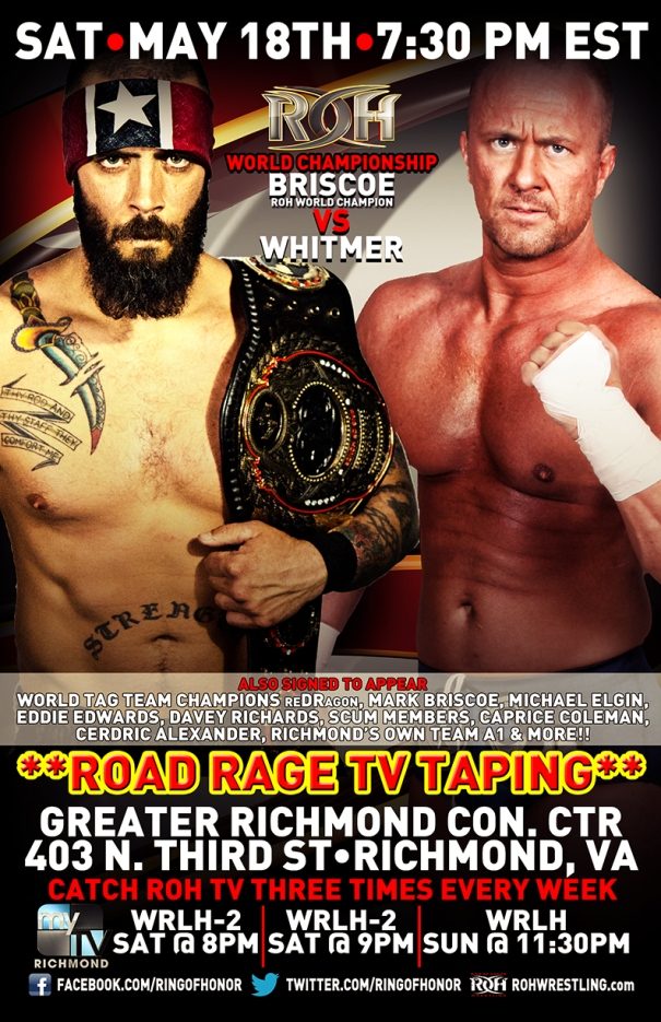 TV Tapings Richmond / ROHwrestling.com
