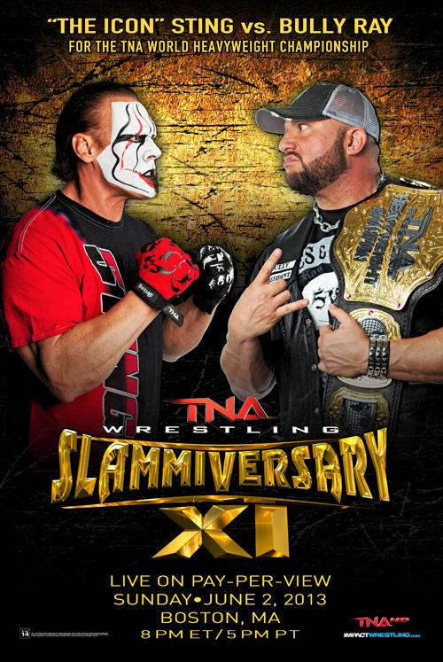 Slammiversary XI Poster // Cortesía de ImpactWrestling.com