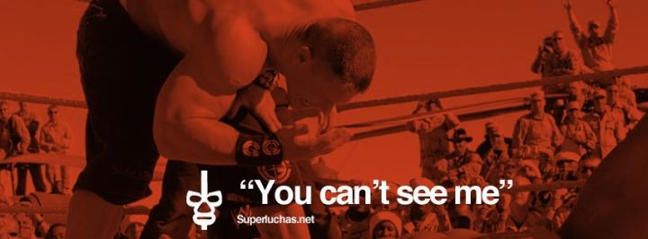 Portadas para Facebook Superluchas - John Cena