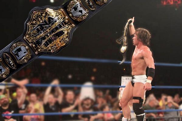 Chris Sabin el nuevo campeón mundial de TNA|@impactwrestling