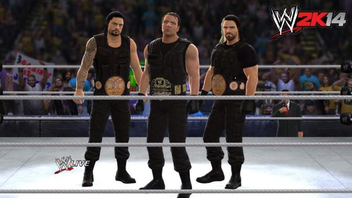 The Shield en WWE 2K14