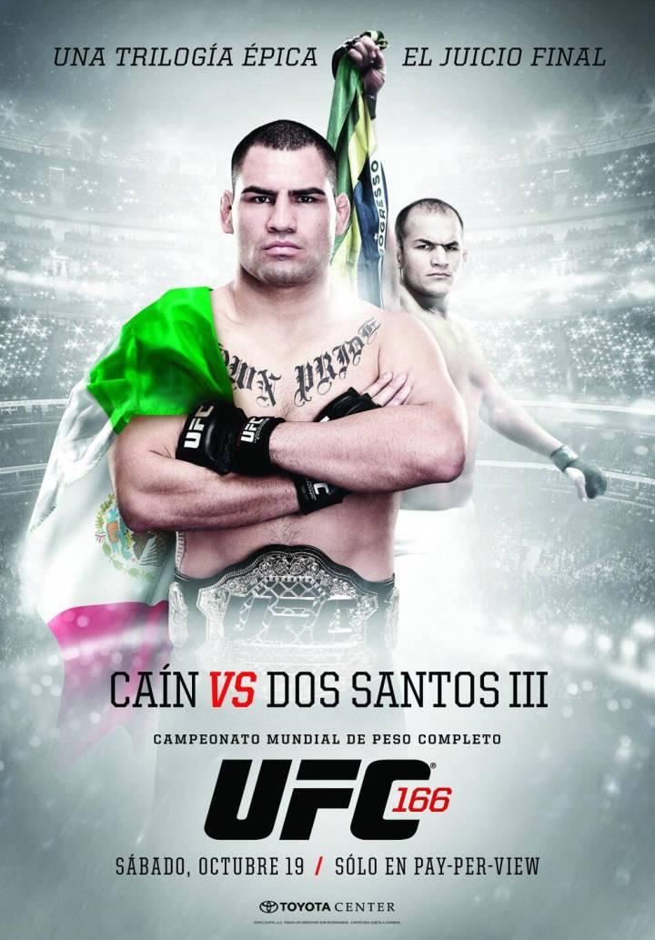 UFC 166: Velasquez vs. Dos Santos 3 - Poster para América Latina